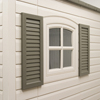 Lifetime Products 2-Piece 24 Inche Shutters LTM 0111