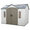sheds & outdoor Storage: Lifetime Products - 10x8 Garden Shed