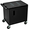 Luxor carts: Luxor - Endura Video Equipment Table with Cabinet