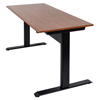 Luxor Pneumatic Adjustable Height Standing Desk LUX SPN48F-BK/TK