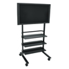 Luxor LCD TV Stand w/ Shelves LUX WFP100-B