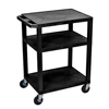 Luxor A/V Cart - Three Shelves LUX WT34