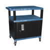 Luxor Tuffy Cart with Cabinet LUX WT42BUC2E-B