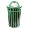 Witt Industries Oakley Collection Dome Top Receptacle WIT M3601-DT-GN