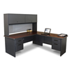 Desks & Workstations: Marvel Group - Pronto® Desk w/Return & Pedestal