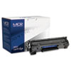 MICR Print Solutions MICR Print Solutions Compatible with CB436AM MICR Toner, 2,000 Page-Yield, Black MCR 36AM