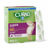 Curad Sheer Strip Bandages MED CUR45242RB