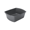 Medline Washbasin, Rectangular, Graphite, 6Qt MED DYND80347H