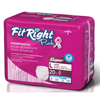Medline FitRight Pink Protective Underwear MED FITPINKLGZ