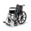 "Rehabilitation: Medline - 2000 Excel 18"" Wheelchair w/Permanent Arms"