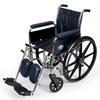 Medline Wheelchair, 16, 803000N, Full-Length Arms MED MDS806300NFLA