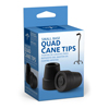 Medline Quad Cane Tips MED MDS86424W