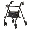 Medline Freedom Ultralight Rollators MED MDS86825SLBLK