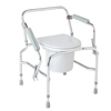 Medline Steel Drop-Arm Commode MED MDS89668