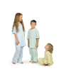 Medline Comfort-Knit Pediatric IV Gowns- Mint, Medium MED MDT011282M