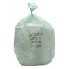 Medline Liner, Mint Green, 29x43, 1.1Mil MED NON023143MG
