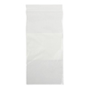 Medline Bag, Zip, White Write-On Block, 4x8, 2Mil MED NONZIP48