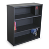 bookcases: Marvel Group - Ensemble 3-Shelf Bookcase, Dark Neutral