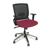 Marvel Group Operational Mesh Chair, Raspberry Fabric/Aluminum Base MLG WMCOPFA-F6557