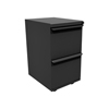 Marvel Group Zapf Mobile Pedestal, File/File, Dark Neutral MLG ZSMPFF19-DT