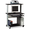 Tiffany Industries Mayline® Eastwinds™ Series Multimedia Mobile Workstation MLN 8350MRANT