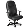 chairs & sofas: Mayline® Comfort Series Executive High-Back Swivel/Tilt Chair with Cut-Out Feature