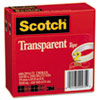 3M Scotch® Transparent Glossy Tape MMM 6002P3472
