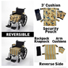 Wheelchair Solutions Seat Cushion Wheelie Styles®, Floral/Stripes MON 10024201