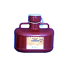 McKesson Multi-purpose Sharps Container Medi-Pak™ 2-Piece 9H X 10W X 6D 4.8 Quart Red Base Vertical Entry Lid MON 11842800