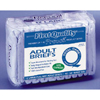 First Quality Brief Full Mat Body Shaped First Quality® 45-58 Large Blue Moderate-Heavy Absorbency, 18EA/PK MON 13333101