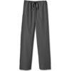White Swan Fundamentals Unisex Drawstring Scrub Pants, Granite, XL MON 20008500