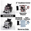 Wheelchair Solutions Seat Cushion Wheelie Styles® Cotton - Motorcycles MON 16044201