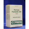 Cypress Ferrous Fumarate Supplement 324 mg Tablet 100 per Bottle MON 18202700