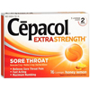 Reckitt Benckiser Sore Throat Relief Cepacol 15 mg / 2.6 mg Strength Lozenge 16 per Box MON 18902700