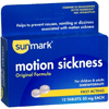 McKesson Nausea Relief sunmark 50 mg Strength Tablet 12 per Box MON 19432700