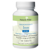 Nature's Products Iron Supplement Natures Pride 28 mg Strength Tablet 100 per Bottle MON 20022700