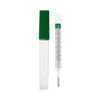 RG Medical Diagnostics Oral Thermometer Geratherm® Glass, Mercury Free, Oval Shape Fahrenheit / Celsius MON 20102500