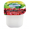 Food & Beverage Thickeners: Diamond Crystal - Thickened Beverage Thick & Easy® 4 oz. Cranberry Cocktail - Honey Consistency, 24EA/CS