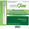 McKesson Laxative Suppository 100 per Box 10 mg Strength Bisacodyl MON 23012712
