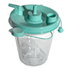 Sunset Healthcare Suction Canister 800 cc Leak-free Seal, 10EA/CS MON 23233900