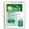 PBE Brief Tranquility® Select™ Ultrablend 45-58 Large Blue 17.7 Oz, Heavy Absorbency, 12EA/BG MON 26343101