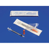 Medtronic Monoject™ 1 mL Insulin Syringe, Permanent Needle, 28 G x 1/2 MON 28012800