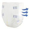 PBE Incontinent Brief ComfortCare Tab Closure Medium Disposable (2965-100) MON 29653101
