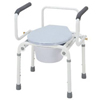 Merits Health Commode Drop Arm Stainless Steel, 2EA/CS MON 30323300