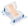 """incontinence aids: PBE - Pant Liner Tranquility® 14W"""" X 21.5L"""" Super Absorbency Absorbent Fluff with Polymer, 12/PK"""