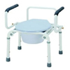 Merits Health Commode Drop Arm Steel 16.5 - 22.5 Inch, 2EA/CS MON 31333300