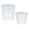 Medical Action Industries Medicine Cup 1 oz. Cold Clear Polypropylene, 100/BG 50BG/CS MON 41581250