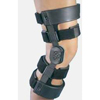 DJO Hinged Knee Brace WeekENDER® Large Hook and Loop Straps 21 to 23-1/2 Inch Circumference Right Knee MON 43573000