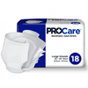 First Quality Incontinent Brief ProCare Tab Closure Large Disposable Heavy Absorbency MON 45583101