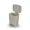 McKesson Step On Trash Can Select 32 Quart Beige Plastic MON 48867100